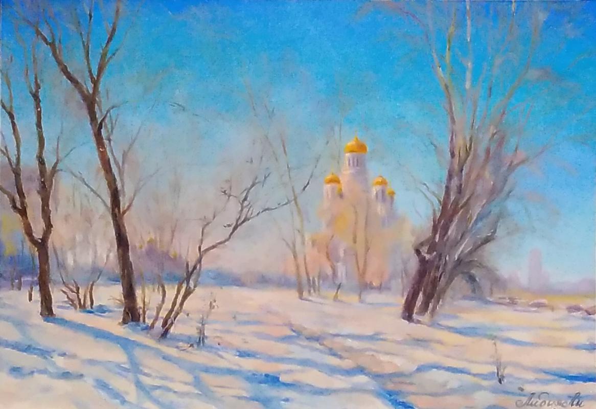 Lydia Lee. Temple on blood. Yekaterinburg, (copy of Efremov A.V.)