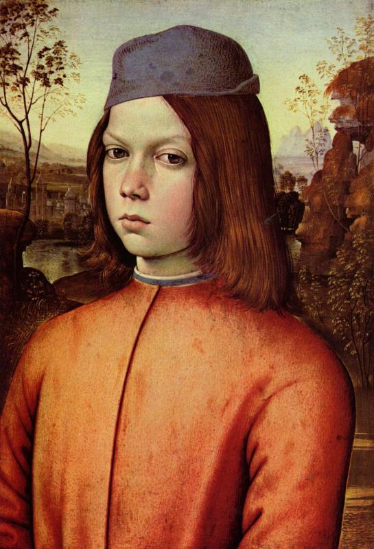 Пинтуриккио. Портрет мальчика