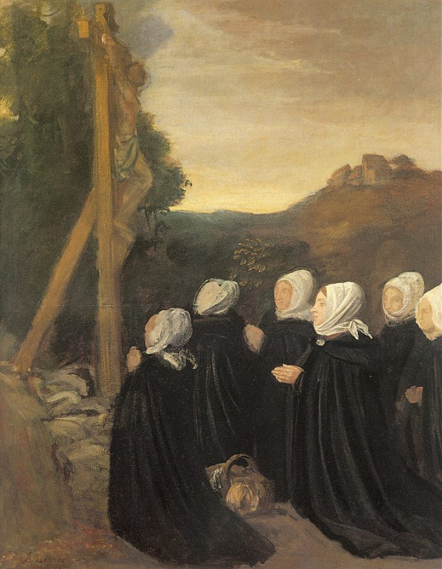 Альфонс Легро. Молитва