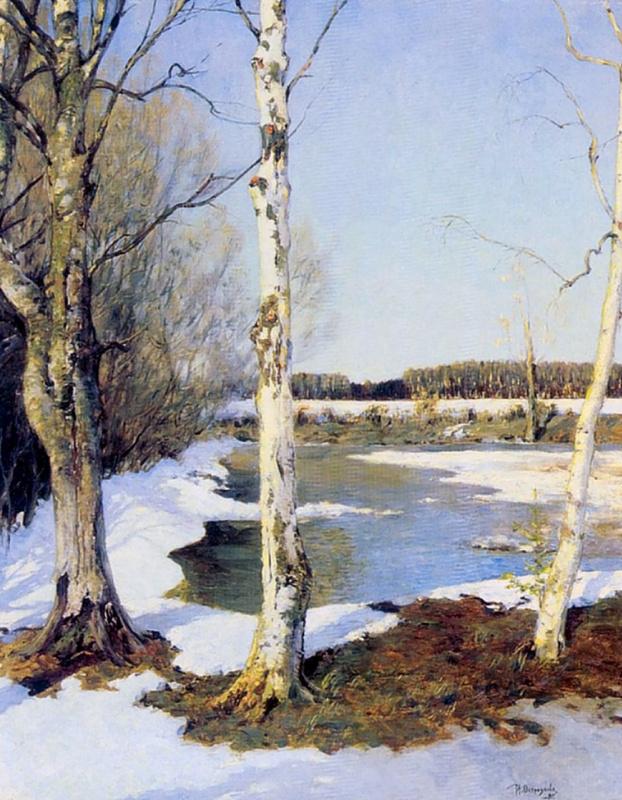 Ilya Semenovich Ostroukhov. Early spring