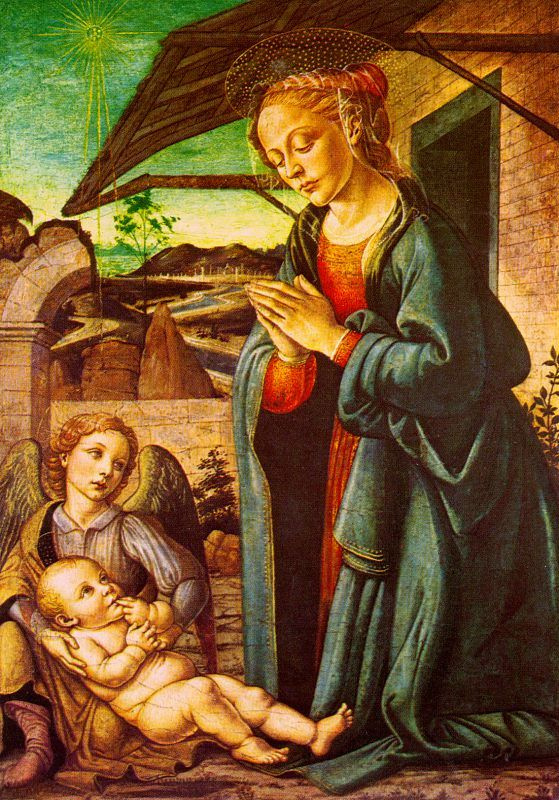 Франческо Боттичини. Рождество