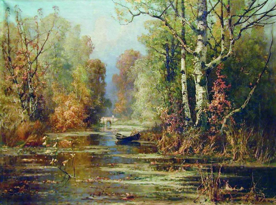 Julius Klever. Autumn Park