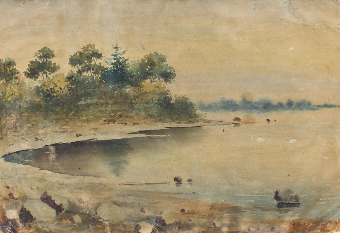 Nikolay Vasilyevich Zavarin. Landscape