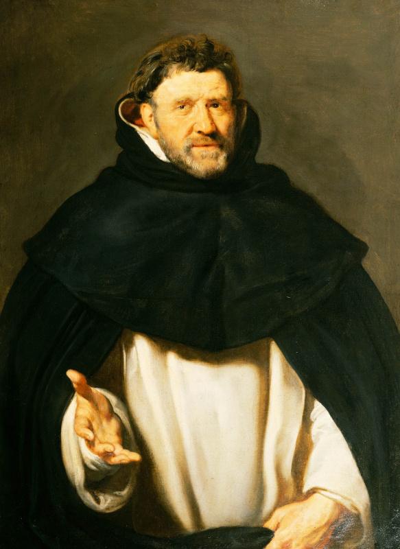 Peter Paul Rubens. Portrait of Michael Favius (1570-37), Bishop of ' s-Hertogenbosch