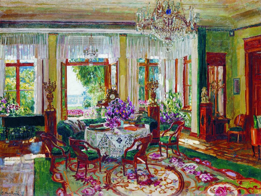Stanislav Yulianovich Zhukovsky. Large living room in Brasov