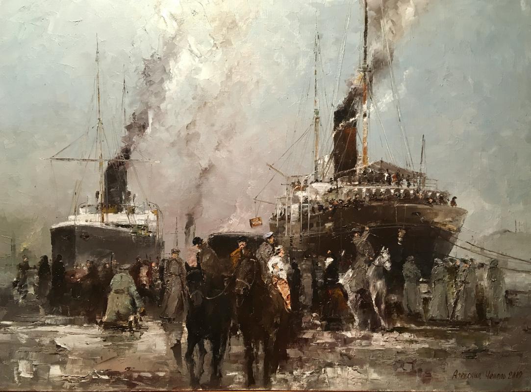 Alexander Cepel. Sevastopol 1920 Evacuation