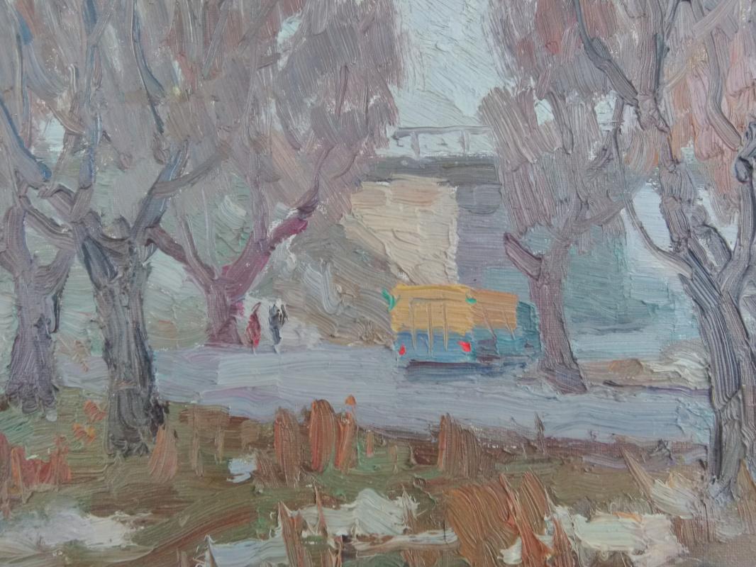 Peter Ivanovich Gladyshenko. Entry into the city