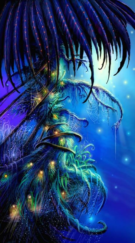 Цветные сны дерева