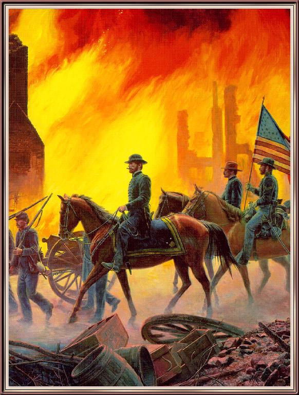 Морт Канстлер. Огненное небо