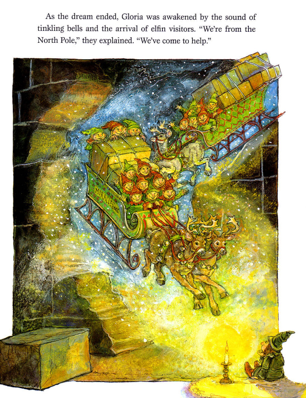 Стивен Келлог. Рождественская ведьма 8