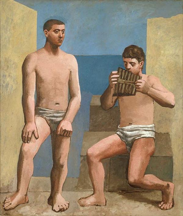 Пабло Пикассо. Флейта Пана