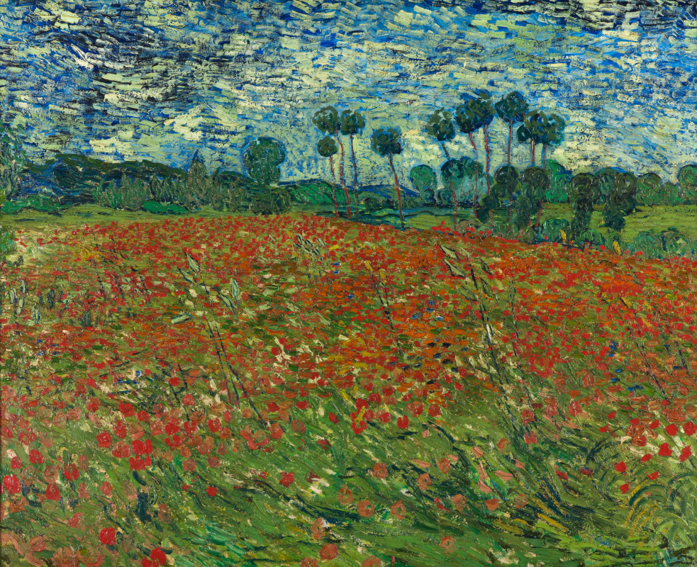 Vincent van Gogh. Poppy field