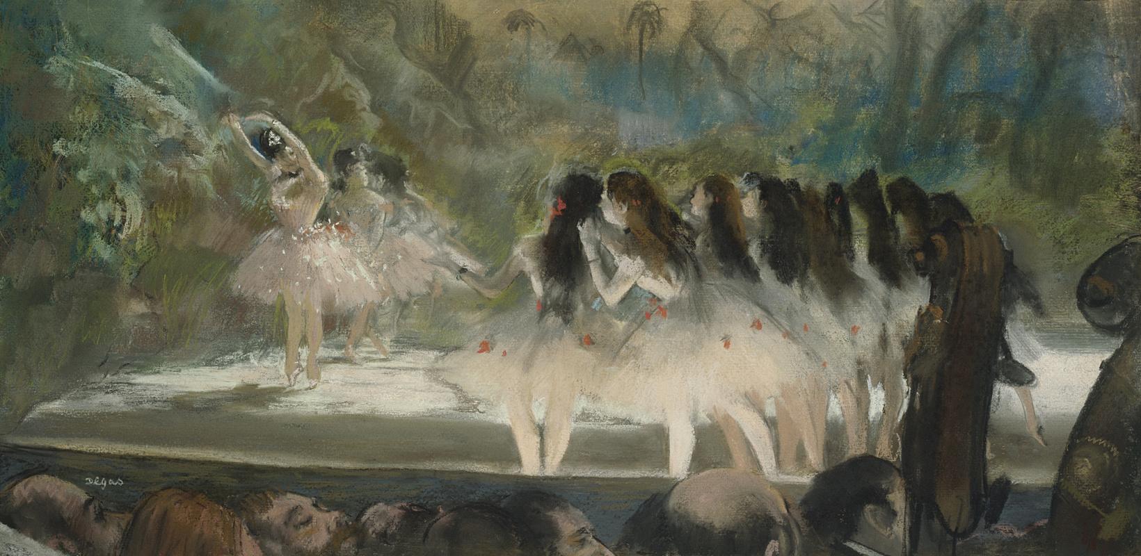 Эдгар Дега. Балет в Парижской опере