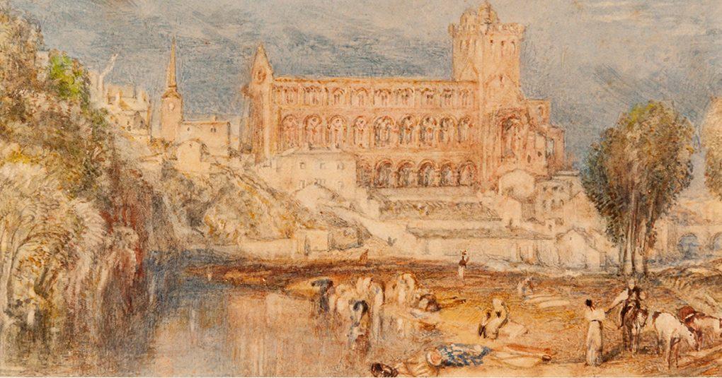 Joseph Mallord William Turner. Jedburgh Abbey