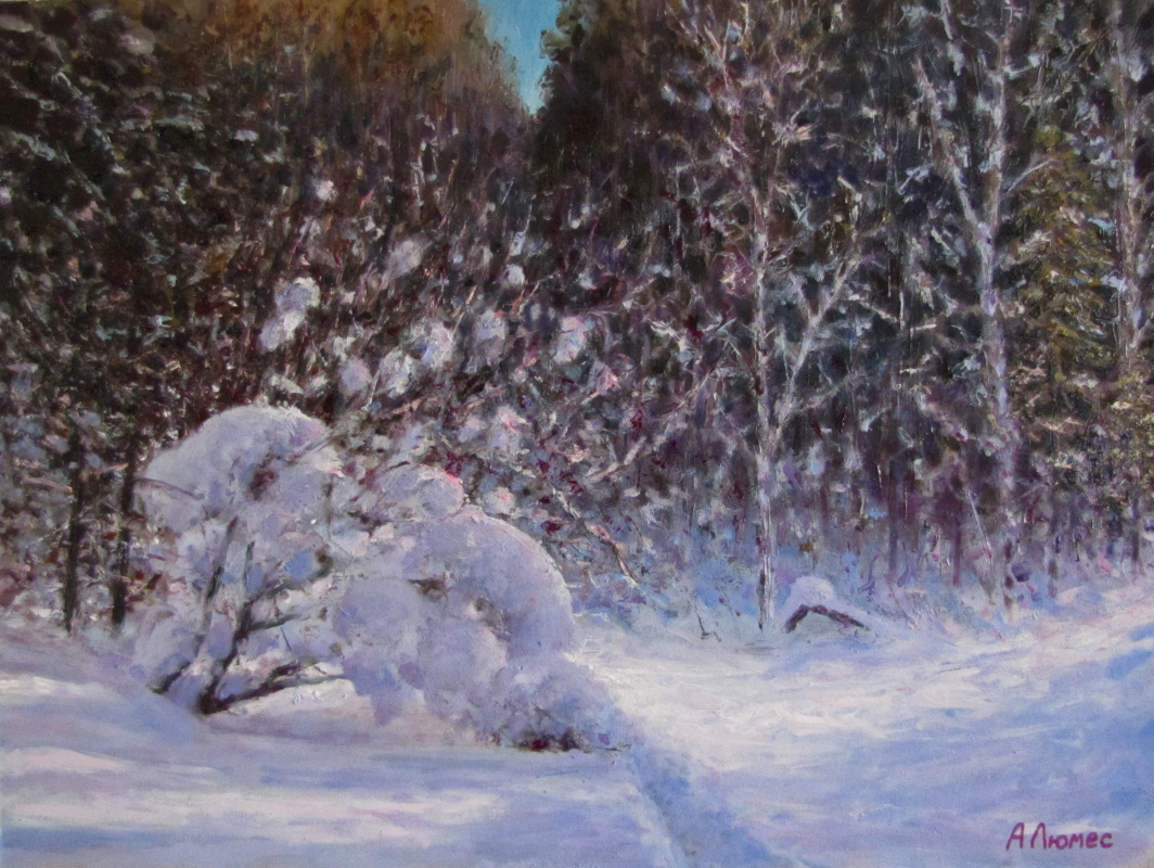 Andrew Lumez. Winter forest