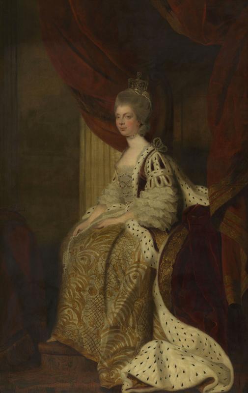 Joshua Reynolds. Queen Charlotte