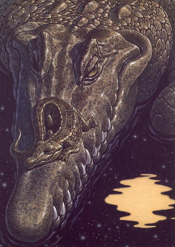 Аллигатор Каудри. Колыбельная