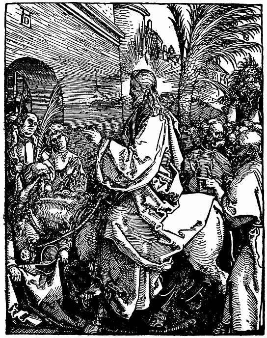 Альбрехт Дюрер. Вход Христа в Иерусалим