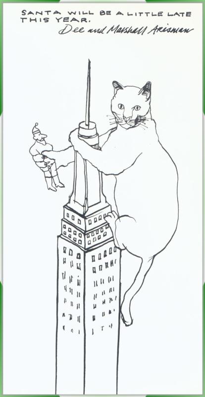 Маршалл Арисман. Рождественская открытка