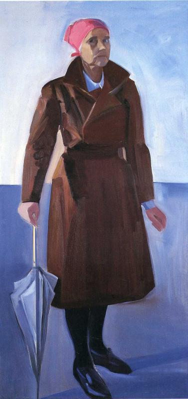 Луиза Метьюсдоттир. Женщина с зонтом