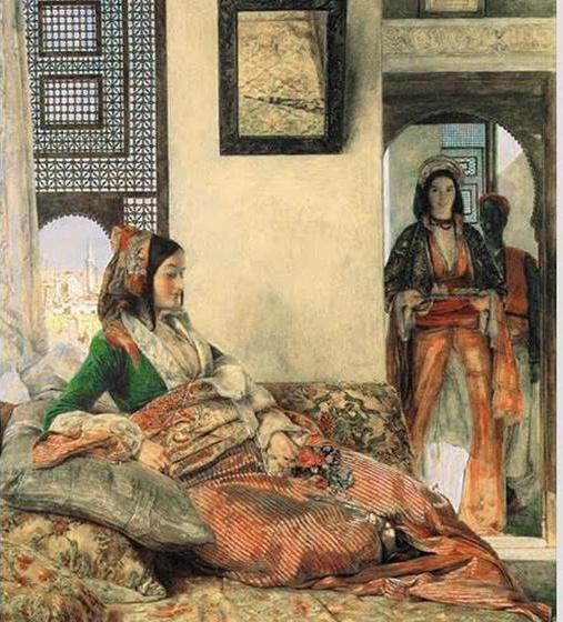 John Frederick Lewis. Armenian woman in Cairo