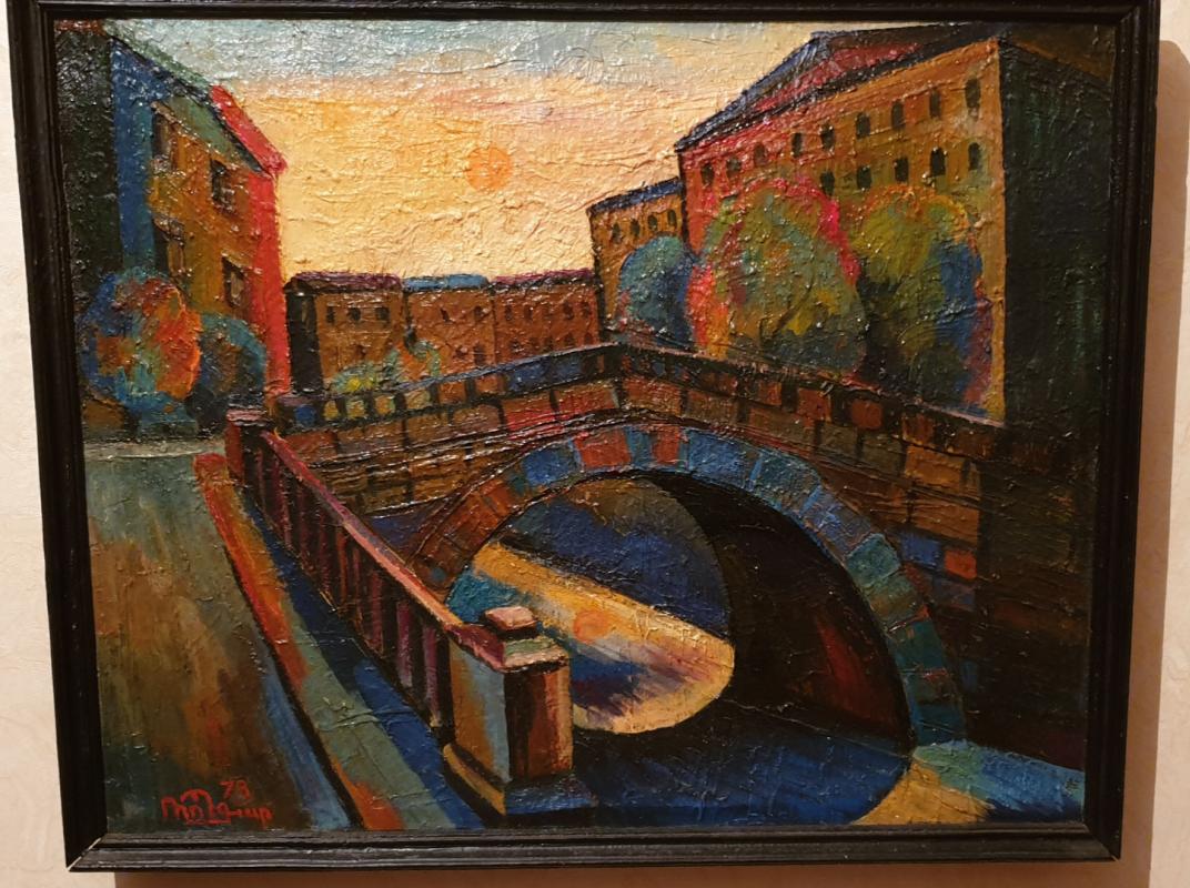Robert Patwakanovich Gyulazyan. City of canals