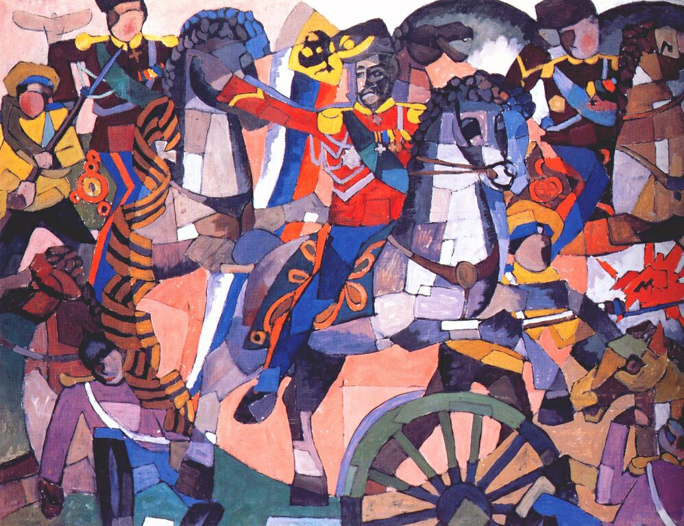 Аристарх Васильевич Лентулов. Победная битва
