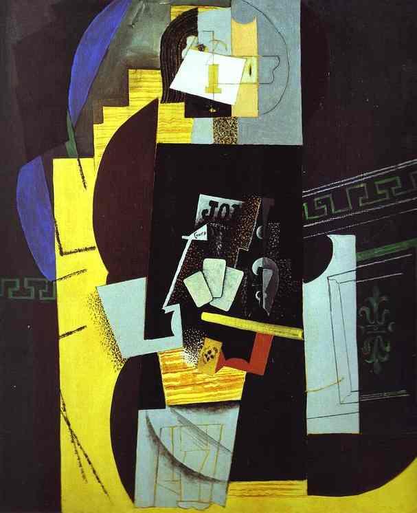 Пабло Пикассо. Игрок в карты
