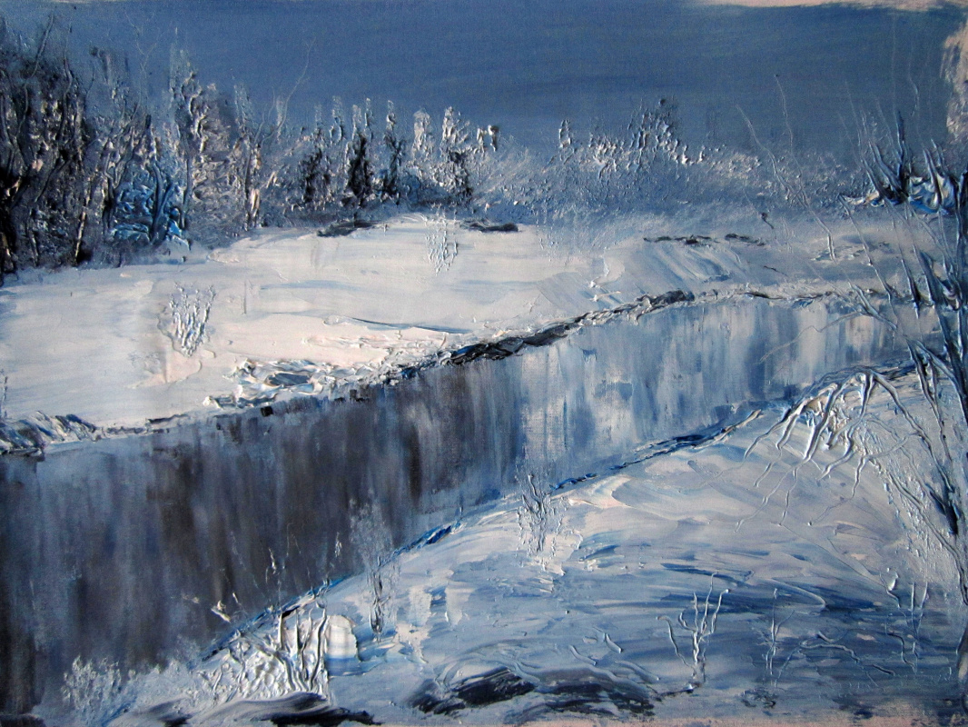 Дмитрий Юрьевич Буянов. Winter forest