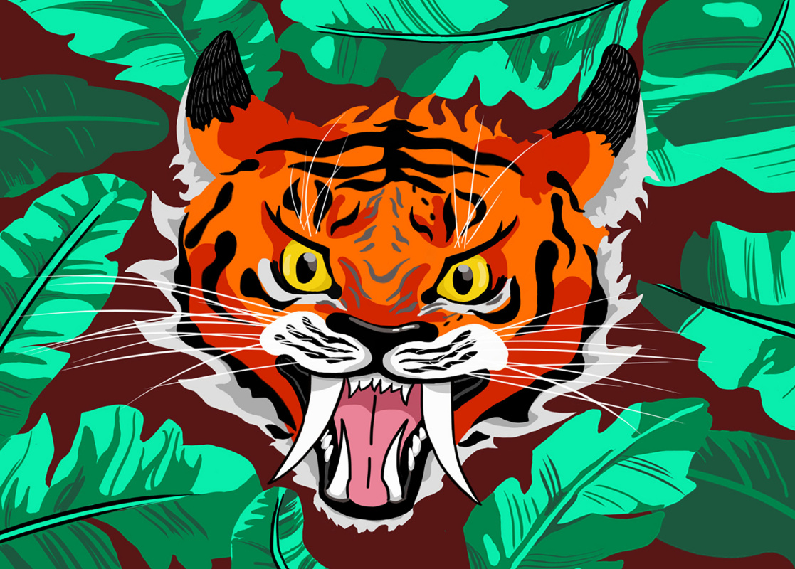 Blinova Anastasia Sergeevna. Tiger