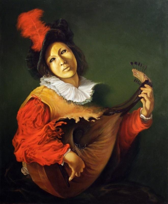 Anatolii Cebotari. Интерпретация.По картине Манфреди.