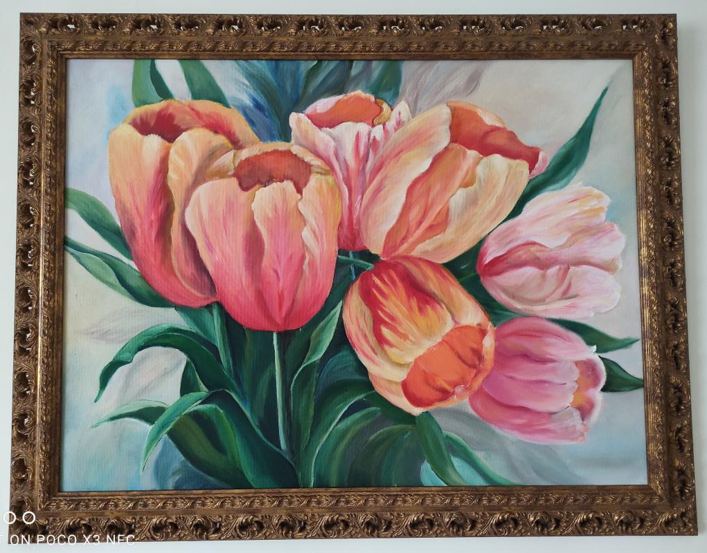 Unknown artist. Tulips