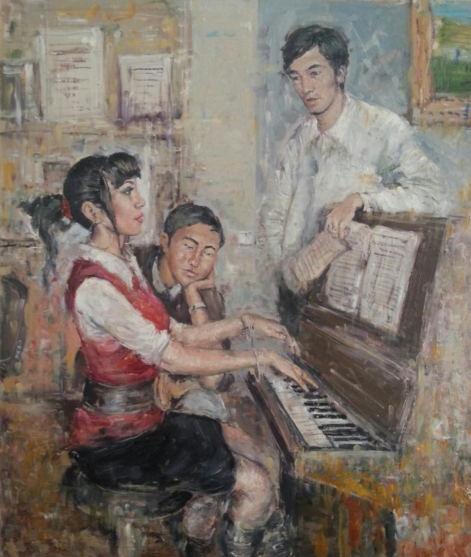 DANIAR JOLDOSHBEKOV. Репетиция