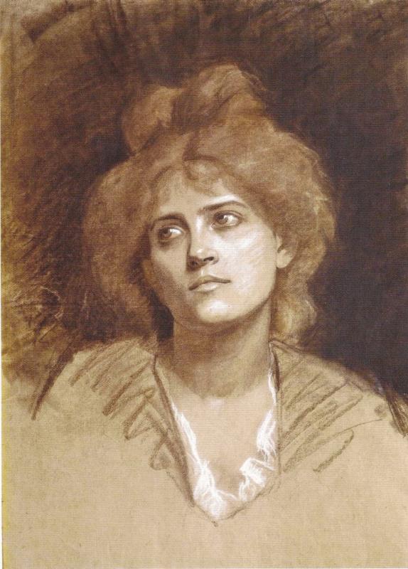 Мария Константиновна Башкирцева. Портрет женщины