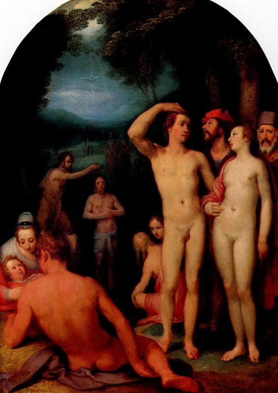 Корнелис ван Харлем. Крещение