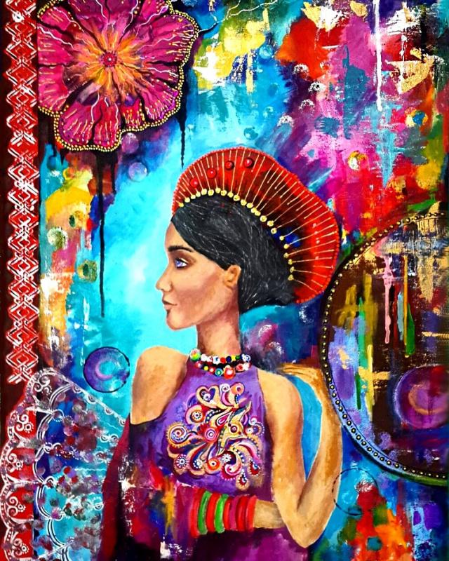 Natalia Alexandrovna Bartseva. Color of life