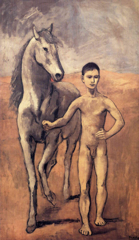 Pablo Picasso. Boy leading a horse