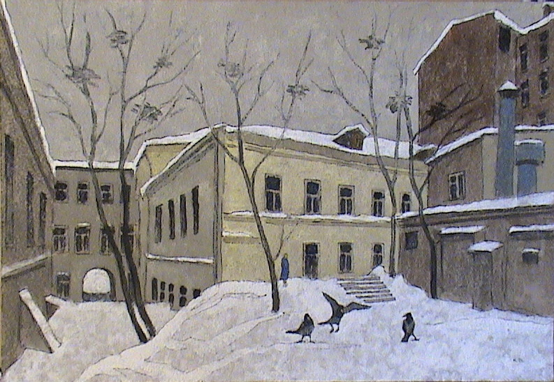 VALERIY VLADIMIROVICH KOMAROV. MOSCOW YARD