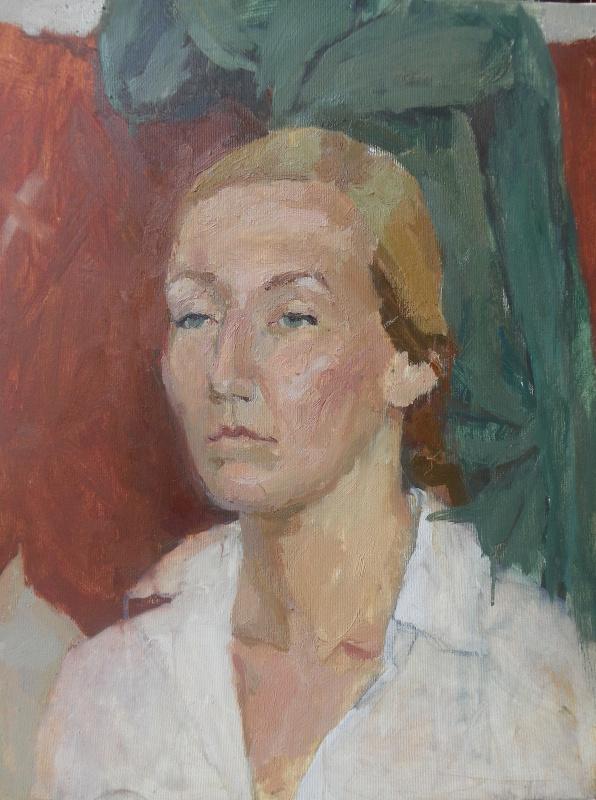 Alexander Igorevich Velichko. Portrait of a girl
