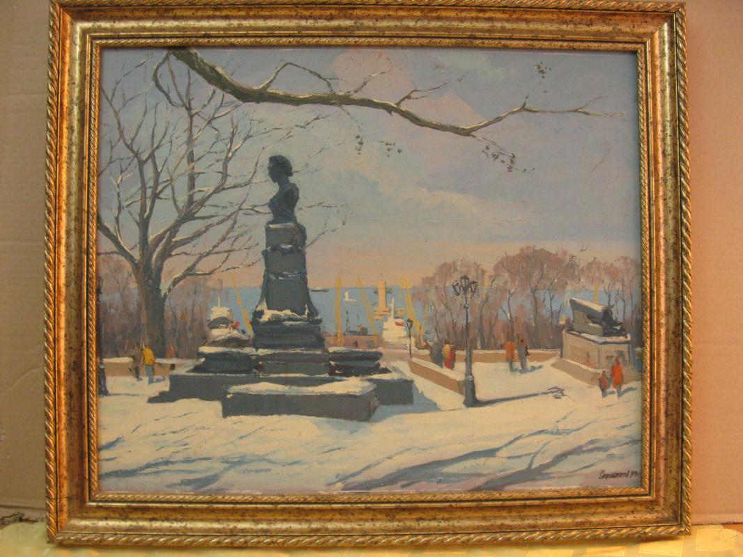Svyatoslav Petrovich Skorobogatov. Monument to A.S. Pushkin