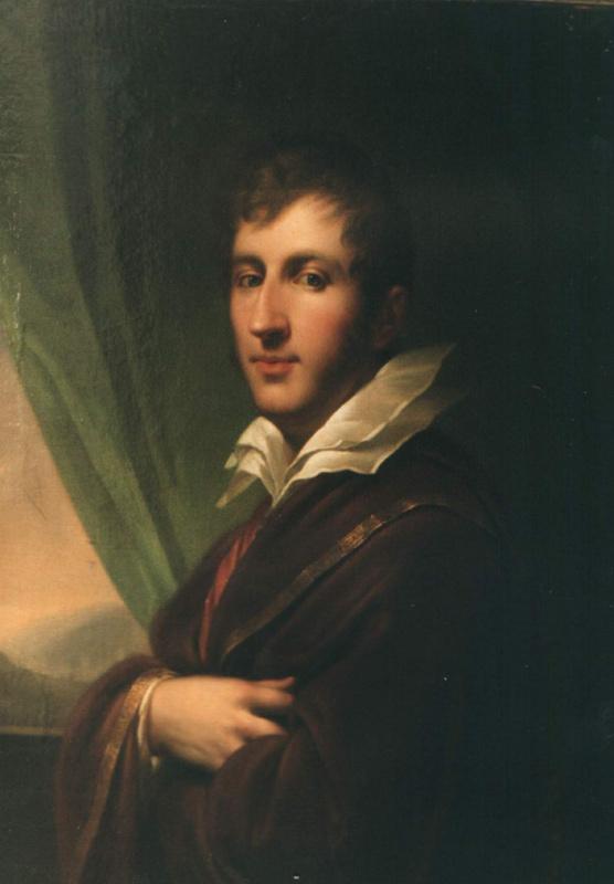 Johann Baptist Lumpy (older). Portrait Of Franciszek Sapieha