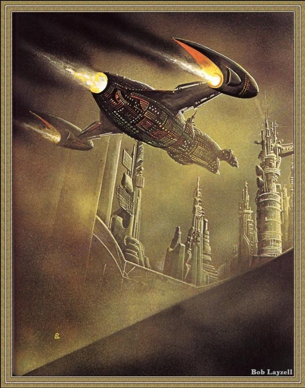 Боб Лаузелл. Космический корабль 19