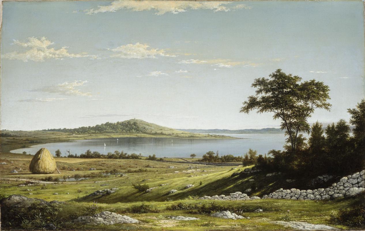 Martin Johnson Head. Landscape on the coast, Rhode Island