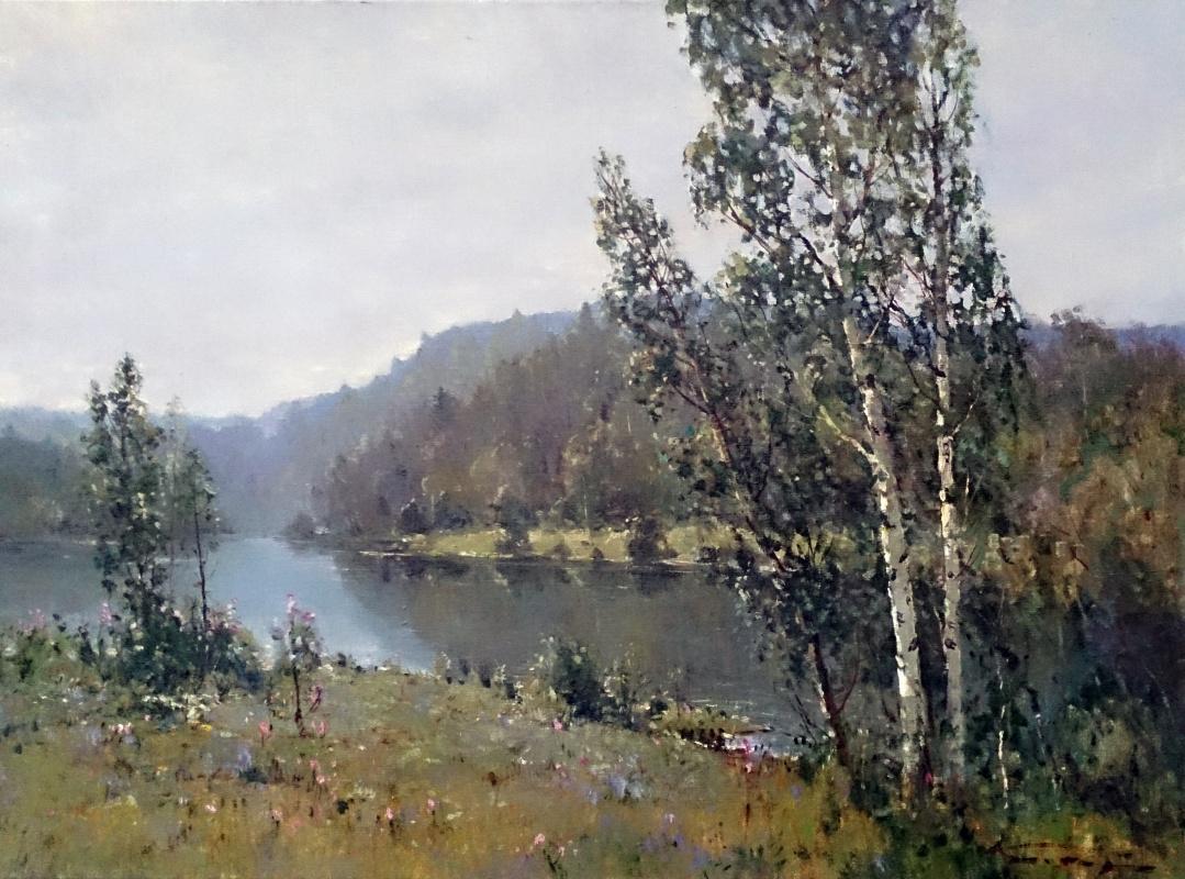 Alexander Markovich Kremer. Early spring