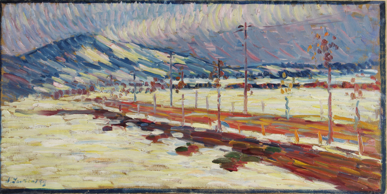 Alexej von Jawlensky. Road