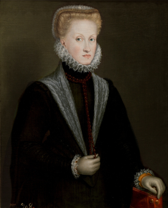Sofonisba Angisola. Anna of Austria, Queen of Spain