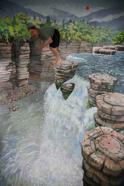 Julian Beaver. Waterfall
