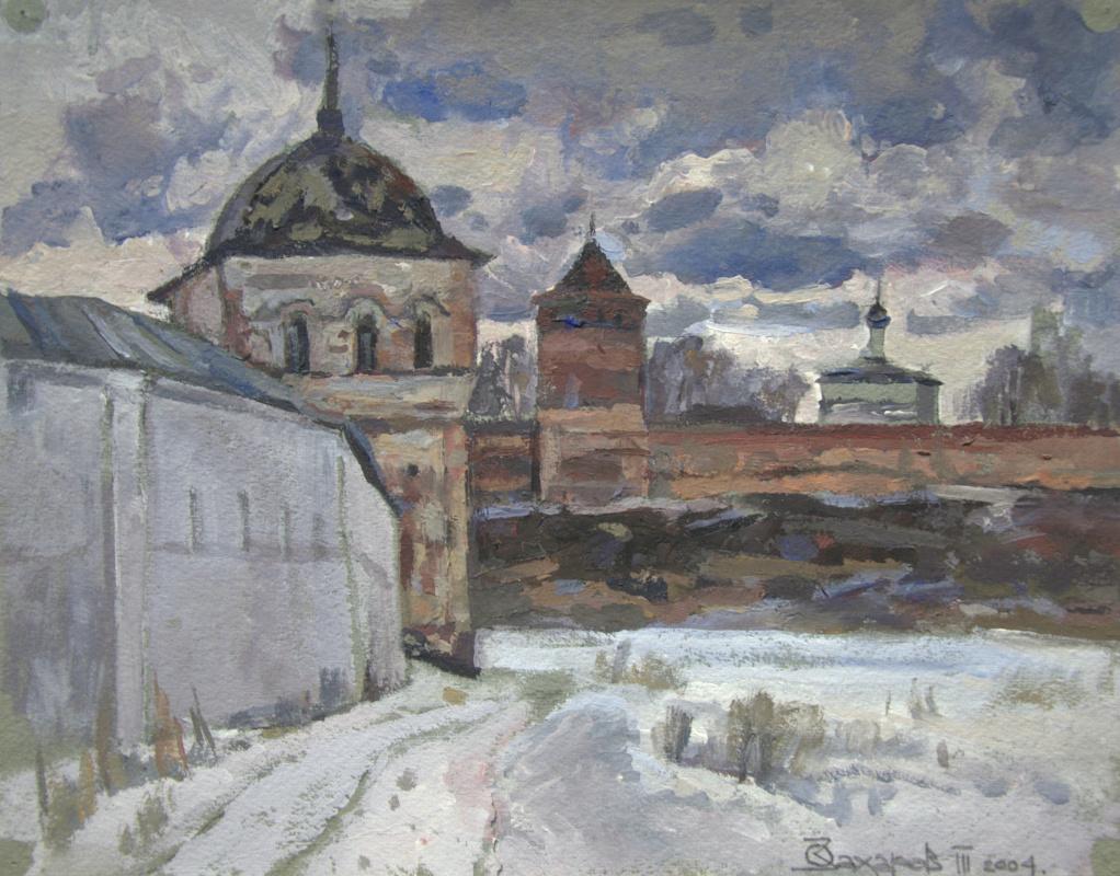 Oleg Borisovich Zakharov. March. Suzdal. Etude.
