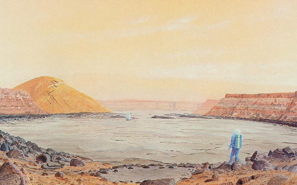 William Hartmann. Volcanoes on Mars