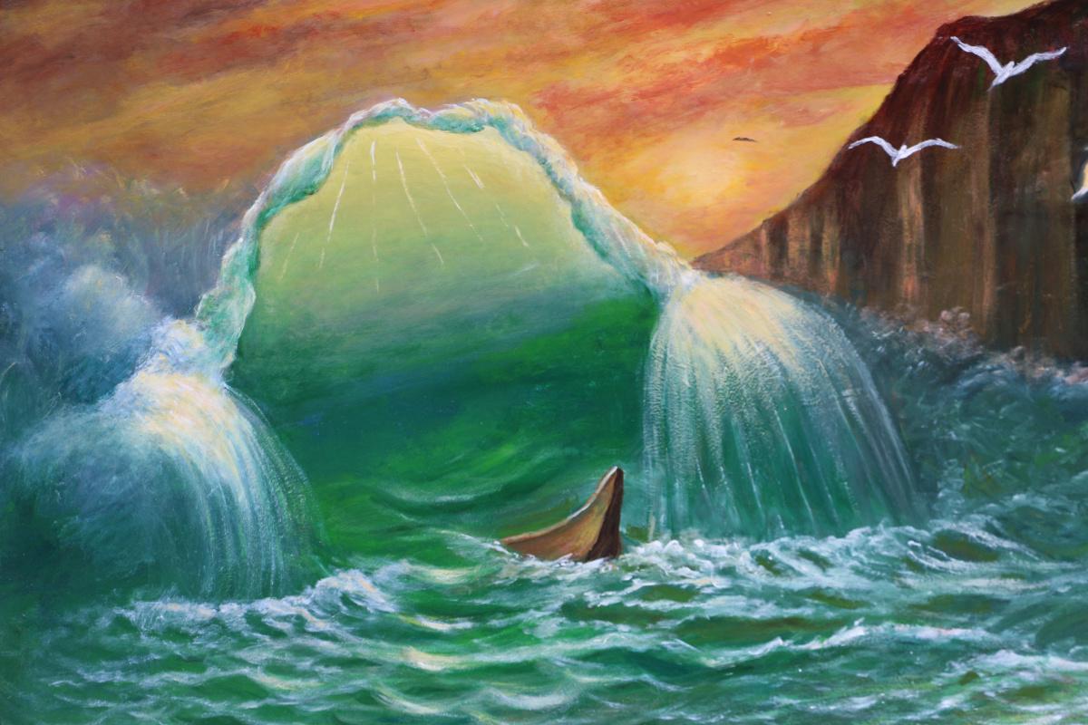 Najaf Mamedali oglu Mamedov. A WAVE OF DROWNED FISHERMAN